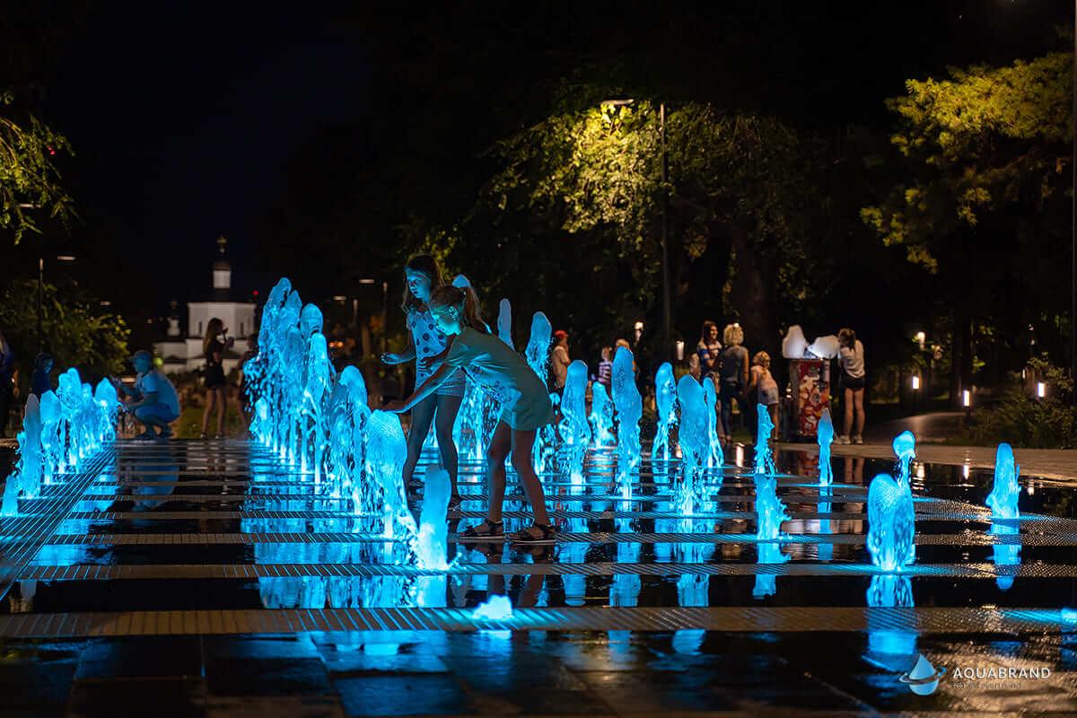 Световой фонтан Волгоград