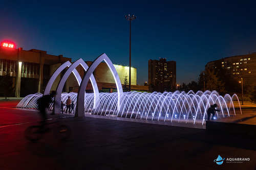 Азалтык. Креативный фонтан в Набережных Челнах