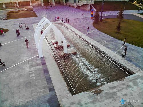Азалтык - фонтан креативный