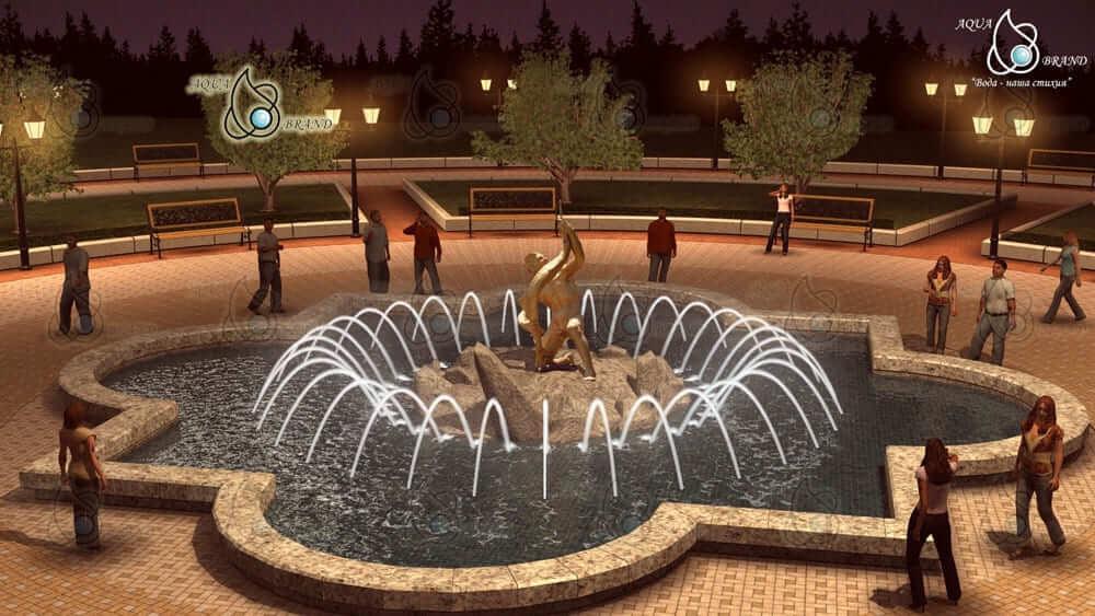 Проект скульптурного фонтана