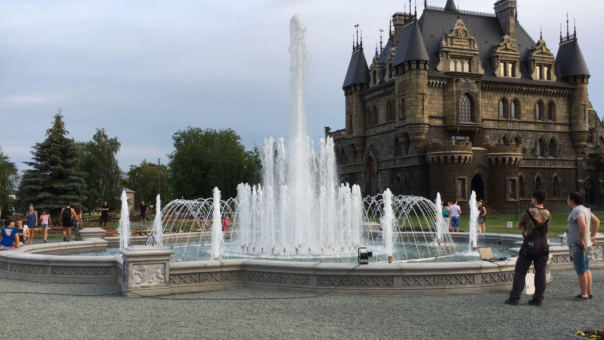 Классический фонтан Гарибальди