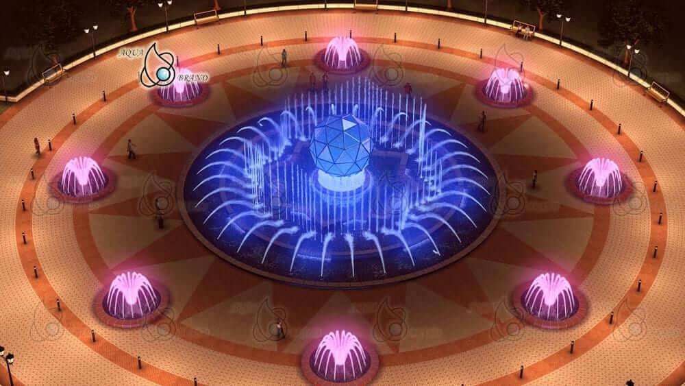 Световой фонтан - проект
