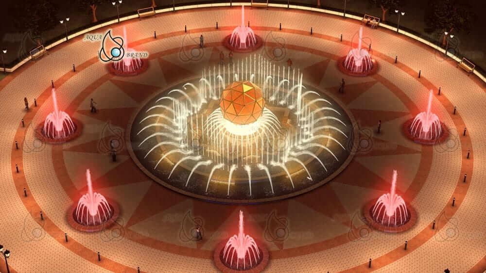 Проект фонтана для Москвы