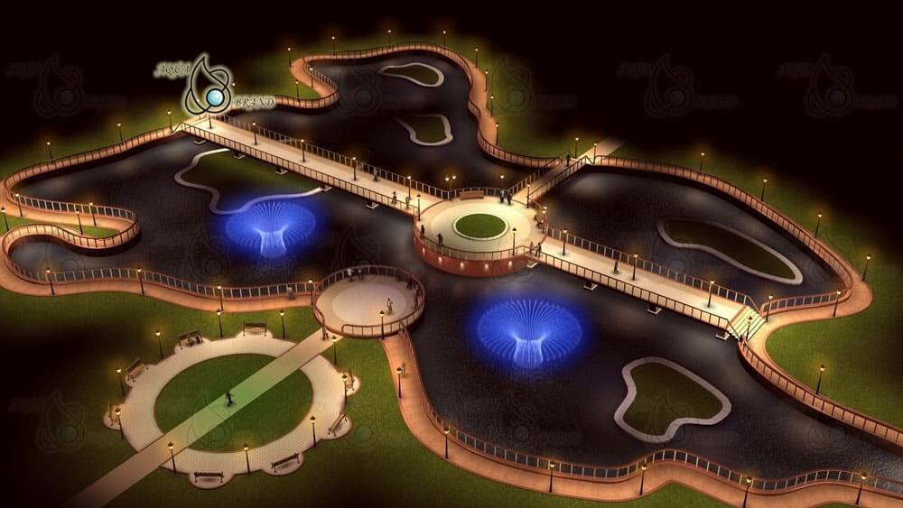 Проект светодинамического фонтана