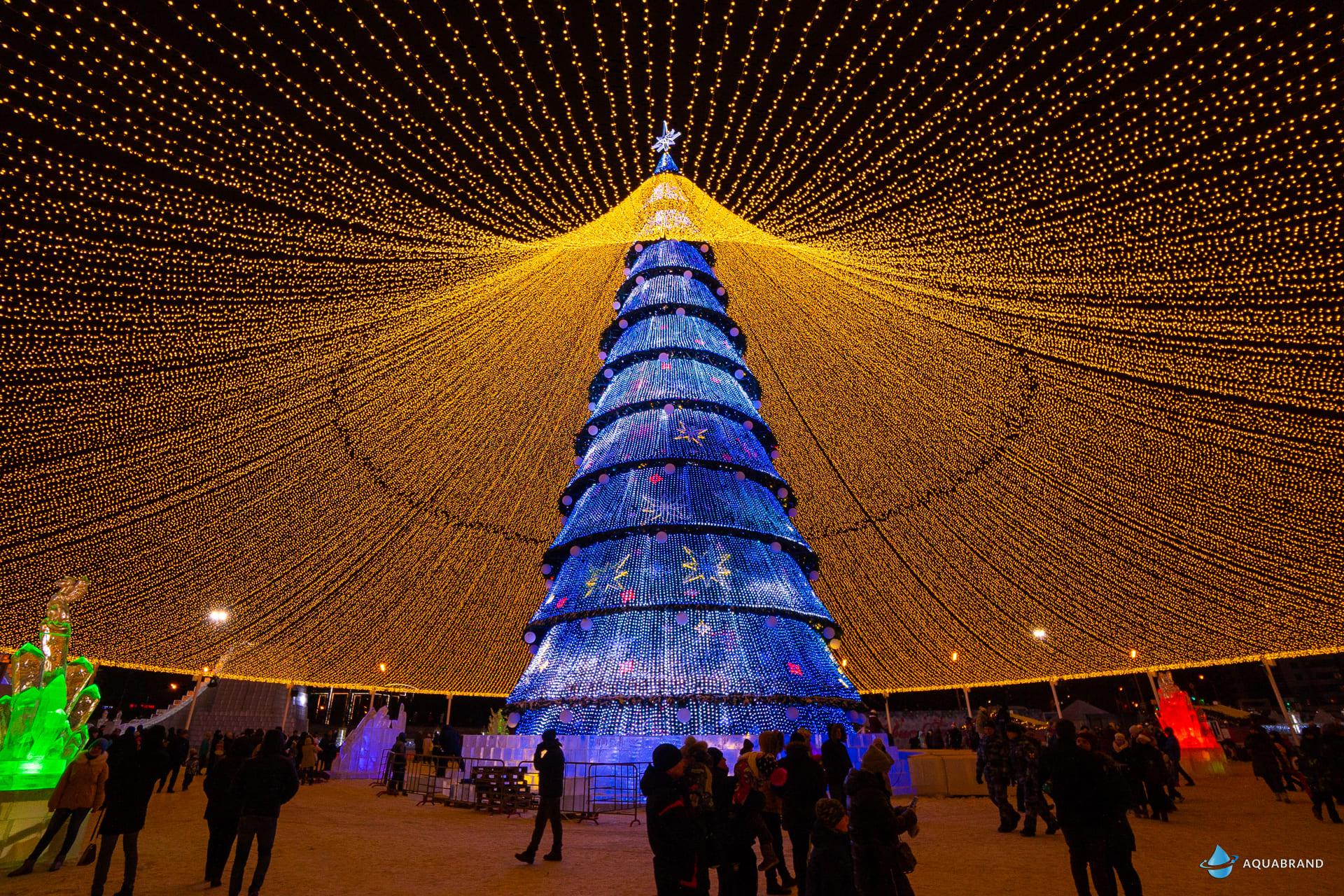 Центральная Новогодняя Ёлка в Казани
