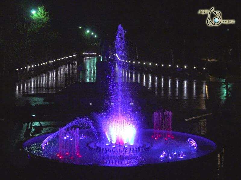 Светомузыкальный фонтан Мамадыш