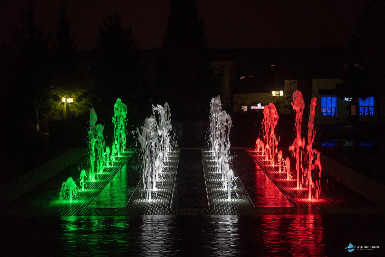 Пешеходный фонтан для парка Бугульма