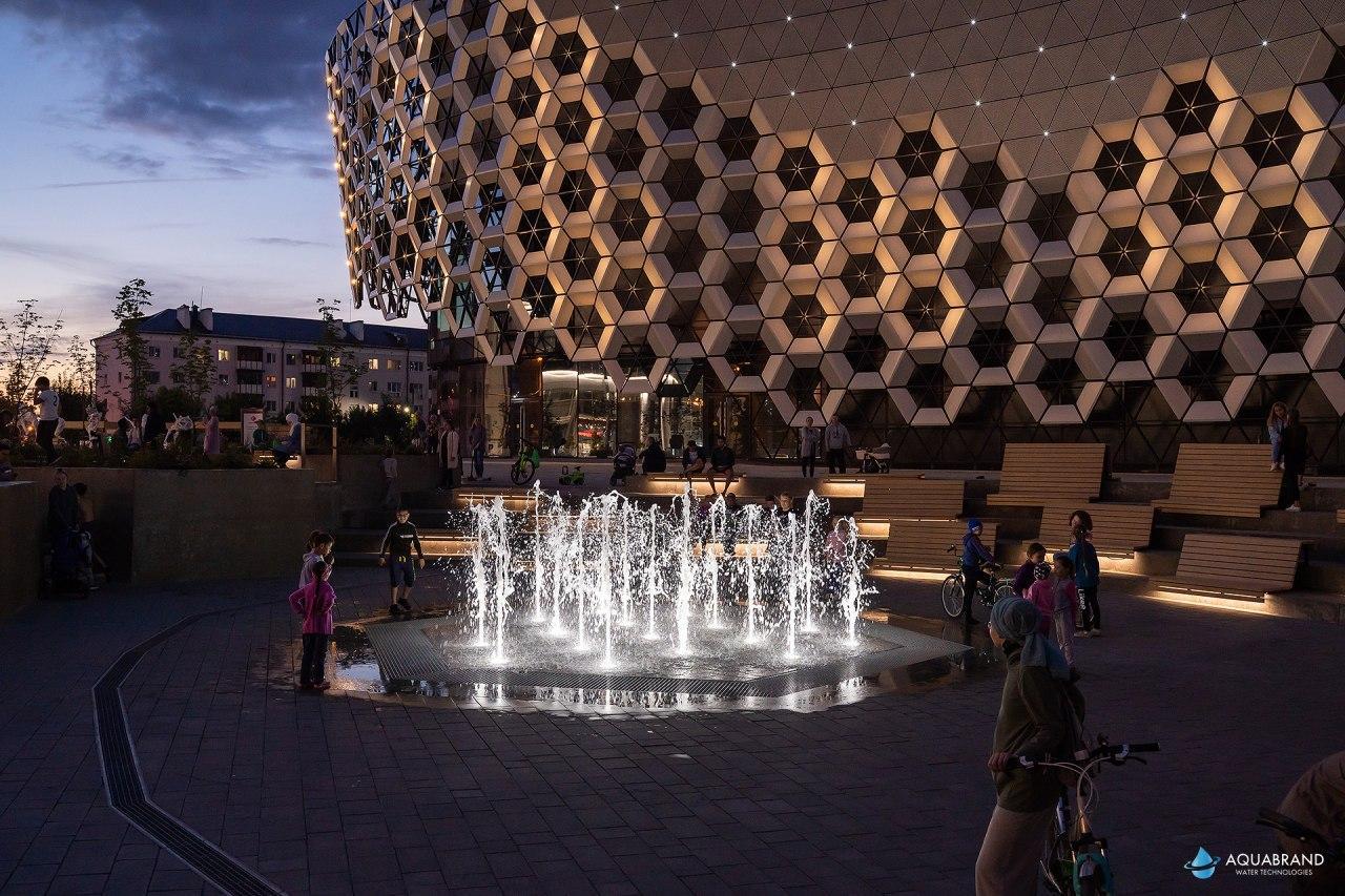 Пешеходный фонтан KazanMall
